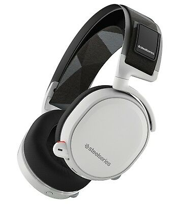 SteelSeries Arctis 7 Wireless DTS 7.1 Surround Gaming Headset White New Sealed