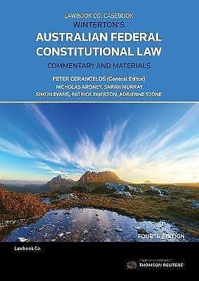 Winterton's Australian Federal Constitutional Law C and M