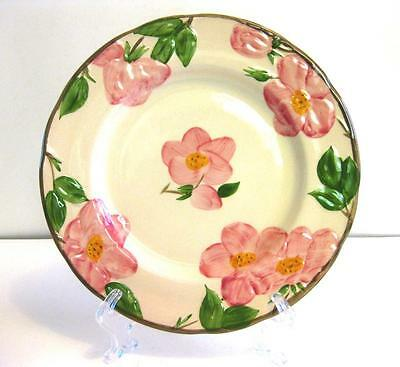 Vtg 50Th Anniversary 1990 Franciscan Desert Rose Plate 9 1/4 Inches, England