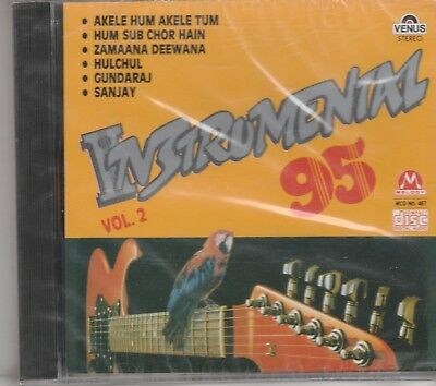 Instrumental ' 95 -Akelel HUm Akele Tum,Hulchul,Sanjay [Cd ] 1st edition Uk Made