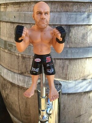 UFC Tap Handle Beer Keg RANDY COUTURE  MMA Fighting Kegerator Knob Pull