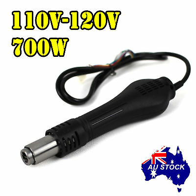 110V Soldering Station HOT AIR GUN HANDLE for YIHUA 878D 878AD 898D 858 858D 878