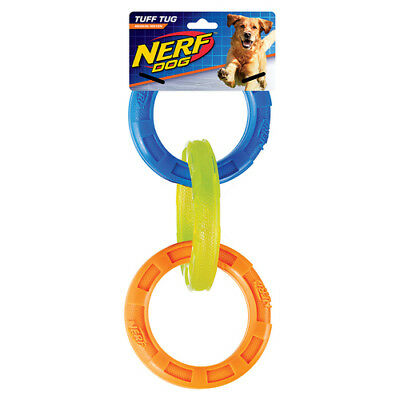 Nerf dog jouet pour chien TPR 3-ring-zugspielzeug Tri-Couleur, NEUF