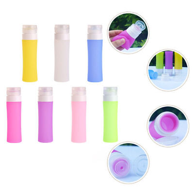 Portable Refillable Silicone Bottle Traveler Lotion Shampoo Bath Containers 80ML