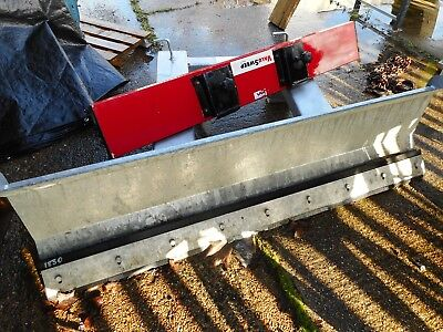 Snow Plough / Scraper Forks Attachment With Brush Never Used