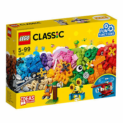 10712 LEGO Classic Bricks And Gears 244 Pieces Age 4+ New Release For 2018!