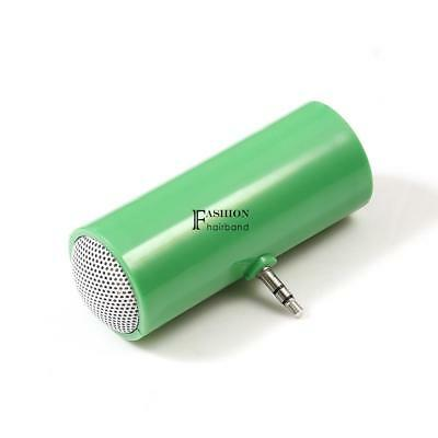 3.5mm Portable Mini Speaker For Phone Tablet Plug-in Aux Audio Jack SYXP