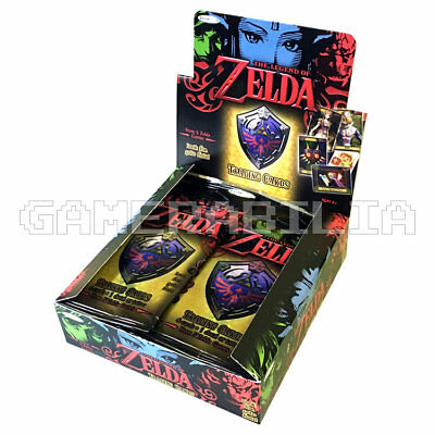NEW Official The Legend of Zelda Trading Cards 4 x Booster Pack