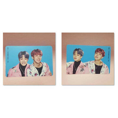 BTS Bangtan Boys J-HOPE JIMIN Official STICKER CARD of The Wings Tour Concert MD