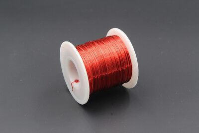 Red Enameled wire 150g, 26AWG, 0.4mm, 135m, Enamelled Copper Coil, Magnet Wire