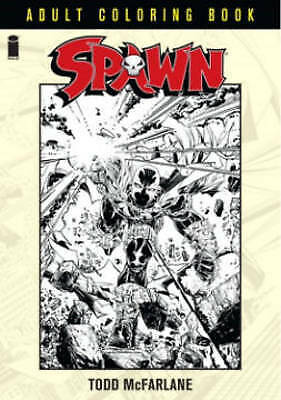 Spawn Coloring Book by Todd McFarlane (Paperback, 2016)