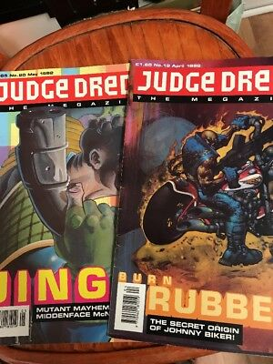 Judge Dredd The Magazine No19 & 20
