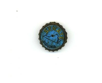 Rare c1940 Christian Heurich Senate Beer Virginia Tax Bottle Cap Washington, DC