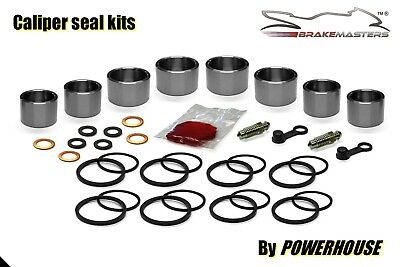 Suzuki GSX-R 600 front brake caliper piston seal rebuild kit K8 K9 2008 2009