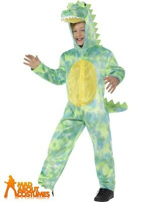 Child Deluxe Dinosaur Costume T-Rex Book Week Day Fancy Dress Outfit Kids  sc 1 st  PicClick UK & CHILD DELUXE DINOSAUR Costume T-Rex Book Week Day Fancy Dress Outfit ...