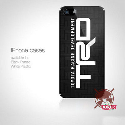 TRD Toyota racing supra car iPhone 5 5S 5C 6 6S 7 7S 8 8S Plus X Case Cover