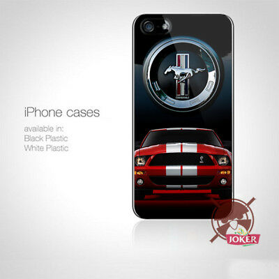 Ford Red Car racing Logo iPhone 5 5S 5C 6 6S 7 7S 8 8S Plus X Case Cover