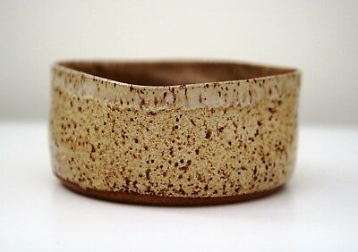 Stoneware Hand Made Rustic Bowl  Pottery Artisan Vintage Boho Kehoe Signed