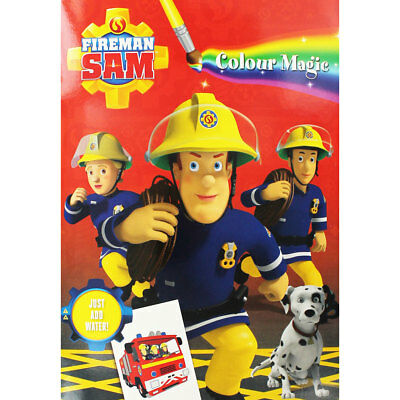 Fireman Sam Magic Painting Book by Alligator (Paperback), Children's Books, New