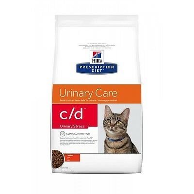 C/d Urinary Stress 4 Kg Crocchette Per Gatto Hill's Prescription Diet Al Pollo