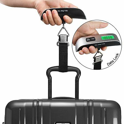 Portable Electronic Digital Weighing Scale 50KG Handheld Travel Suitcase Luggage