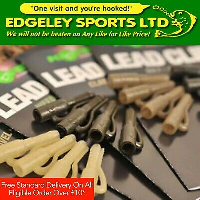 Korda Lead Clips & Hybrid Lead Clips (Various Types & Colours Available)