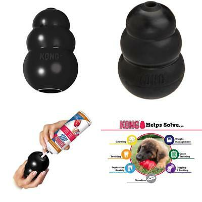 Rubber KONG EXTREME LARGE Chew Toy For Dogs - Worlds Best Dog Toy (K1)