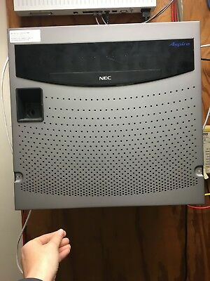 NEC Aspire 0890000 - IP1NA 8KSU A1- Phone System With Voicemail & 38 Phones