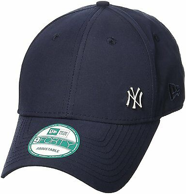 New Era Men 9Forty Baseball Cap.new York Yankees Flawless Navy Curved Peak Hat 7