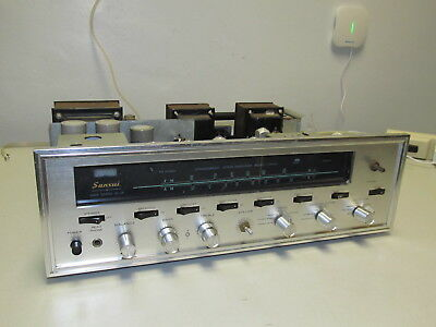 Vintage Sansui 1000A Stereo Tuner Amplifier Tube Receiver PROJECT, NEEDS REPAIR