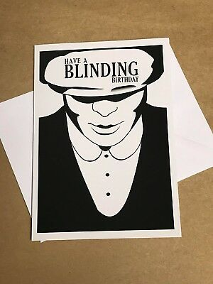 Peaky Blinders Blinding Birthday Card By Order Of Thomas Tommy
