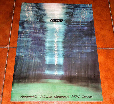 Brochure Depliant Advertisement Fiat 500 126 127 128 124 130 132 Rally Coupé 975