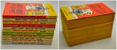 Andy Capp By Reg Smythe Vintage Paperback Lot Of 11 Books Comic Funnies