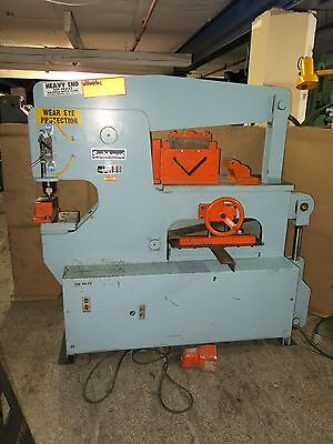 Scotchman 90 Ton Hydraulic Ironworker with Tooling