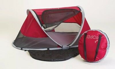 KidCo PeaPod Child / Toddler Travel Bed ~ Cranberry ~ P3010 ~ New !!!