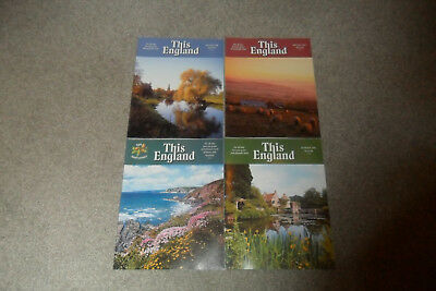 All 4 THIS ENGLAND Magazines From 2008
