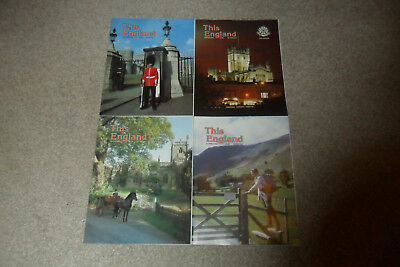 All 4 THIS ENGLAND Magazines From 1992