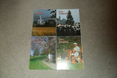 All 4 THIS ENGLAND Magazines From 1988