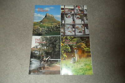 All 4 THIS ENGLAND Magazines From 1990