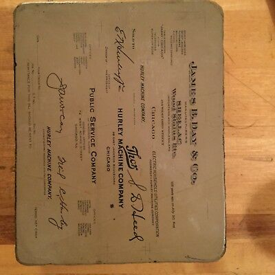 Antique Printing Stone- 1920's Chicago area. In excellent condition!