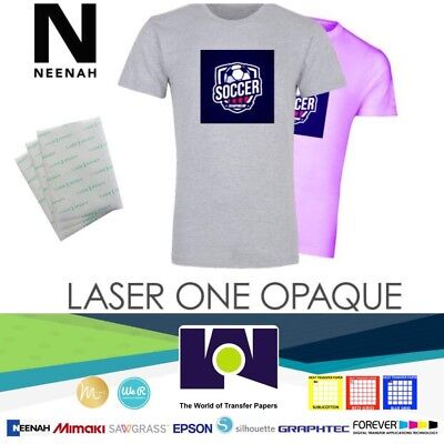 Neenah Laser 1 Opaque Dark Heat Transfer Paper A4 50 sheets A+++