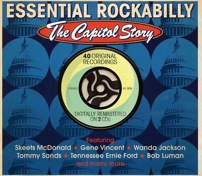 Essential Rockabilly-The Capitol Story (CD Used Like New)