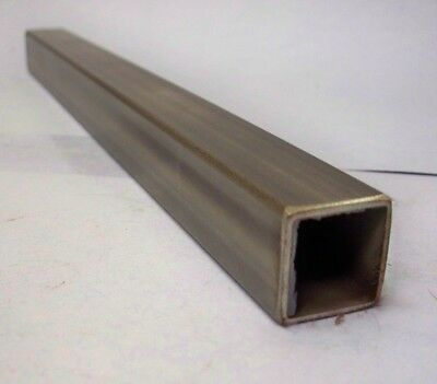 "1"" Stainless Square Tube x 1/16"" wall x 13"" long"