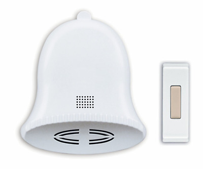 Heath/Zenith SL-6504 Wireless Battery-Operated Door Chime Kit with Three Holiday