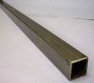 "1"" Stainless Square Tube x 1/16"" wall x 33"" to 36"" long"