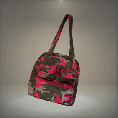 Lug Puddle Jumper Packable, Camo Pink Duffel Bag