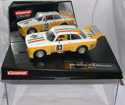 Carrera Evolution 27416 Slot Car Alfa Romeo Gta Silhouette #63 Race2 Mb