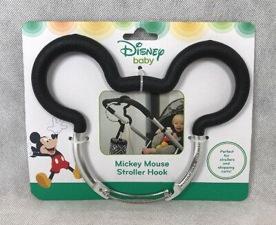 Licensed Disney Baby Mickey Mouse Stroller Shopping Cart Hook New in Package