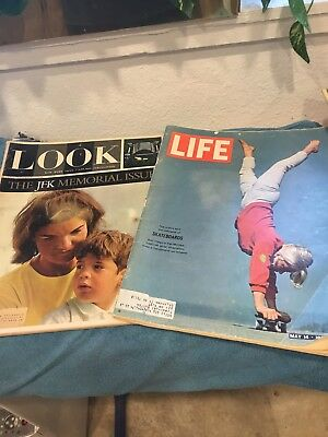 Lot Of 13 Vintage Life Magazine Look 30s 40s 50s