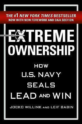 Extreme Ownership by Jocko Willink Paperback Book Free Shipping!